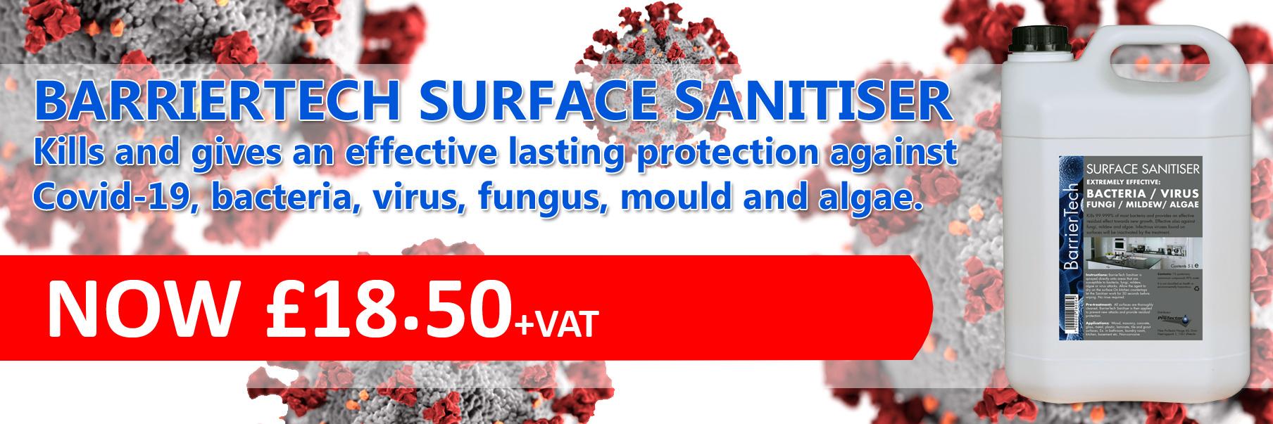 BarrierTech surface sanitiser