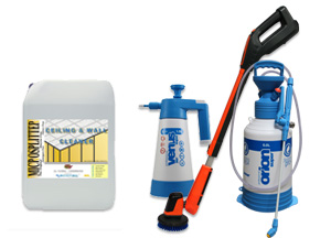 Ceiling And Wall Cleaners