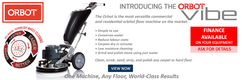 HOS ORBOT Vibe Carpet & Hard Floor Machine