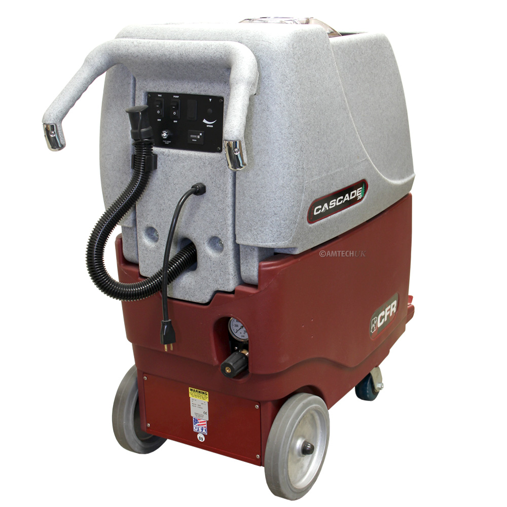 CFR Cascade 20rear view of the carpet cleaning machine