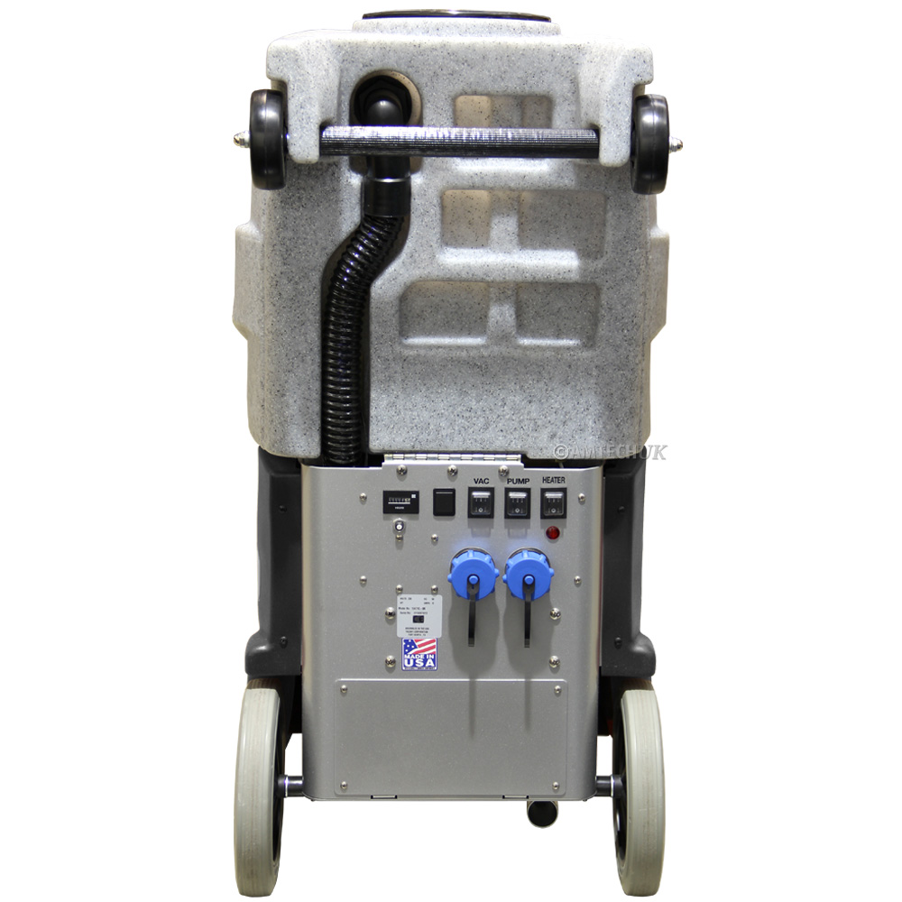 Rear view of the CFR ECO 500 carpet cleaning machine
