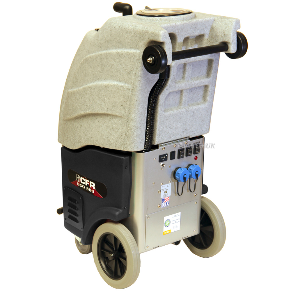Rear side view of the CFR ECO 500 AW carpet cleaning machine