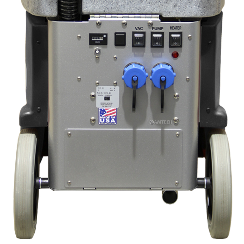 Easy access ECO 500 AW Plus rear control pannel