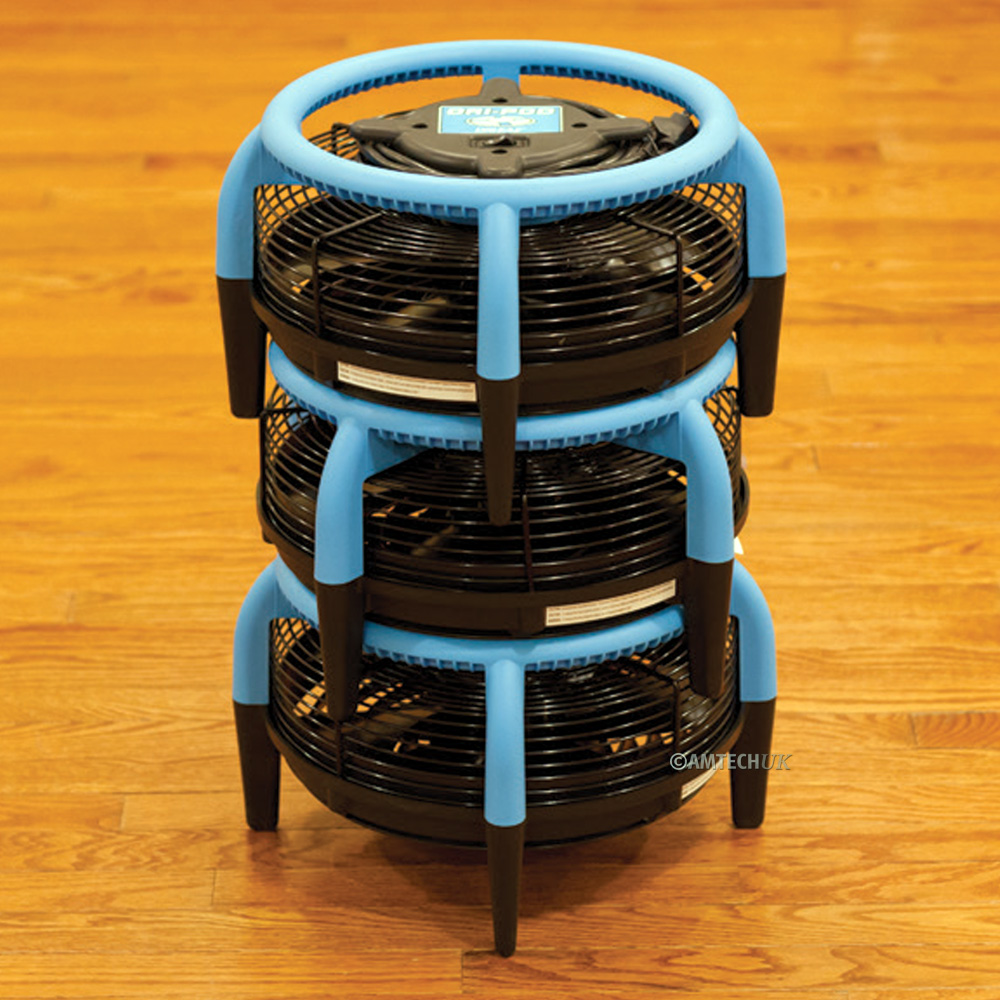 Dr-Eaz Dri Pod floor dryer stackable stroage