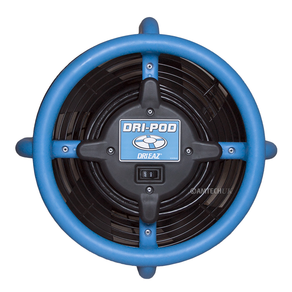 Dri Eaz Dri Pod floor dryer top view