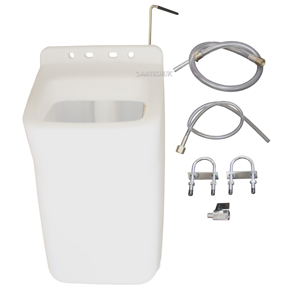 Floor machine solution tank kit