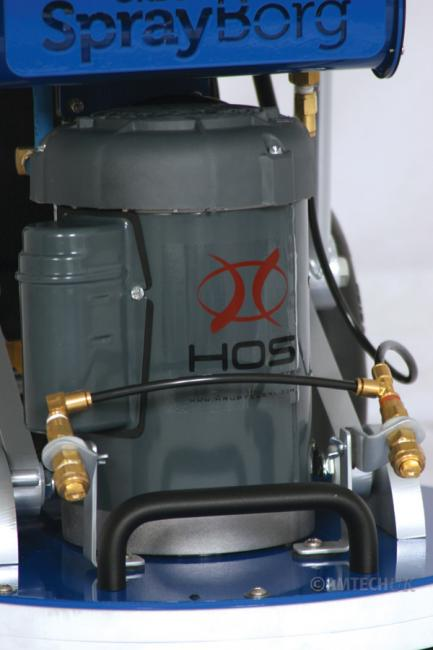 HOS Sprayborg floor machine spray nozzles