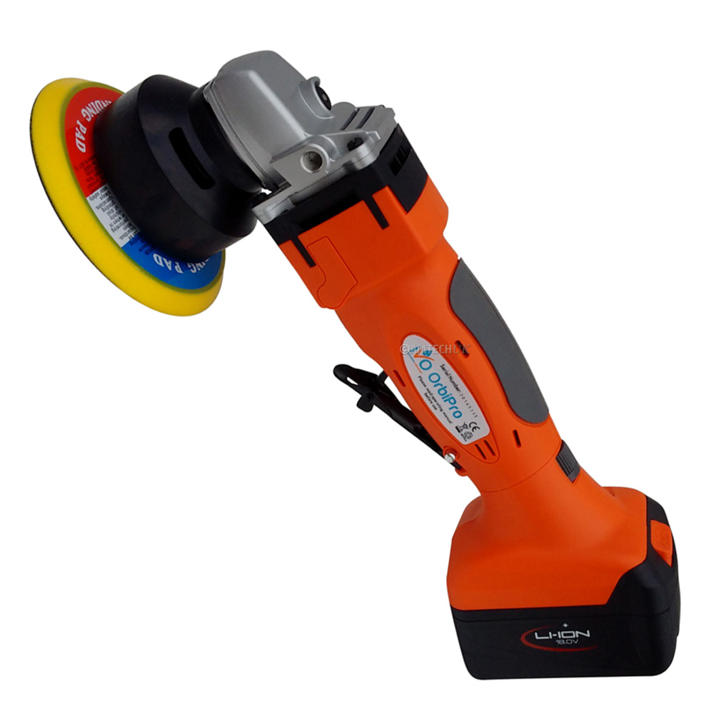 iVo Orbipro cordless battery powered orbital hand tool