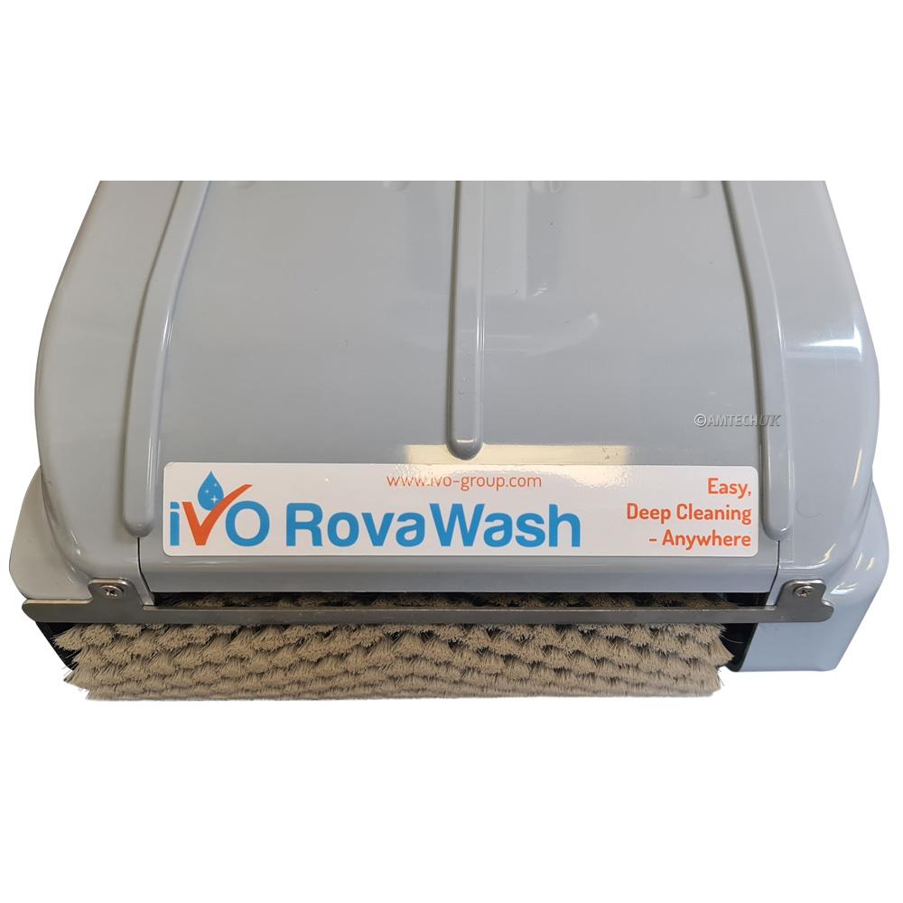 iVo RovaWash Lithium close up brush view