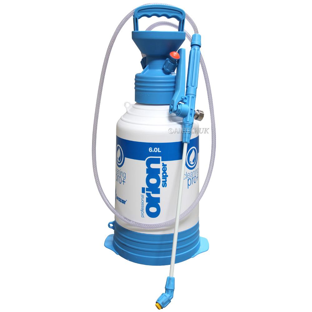 Orion Pro Pump Up Sprayer 6 Litre Kwazar Sprayers