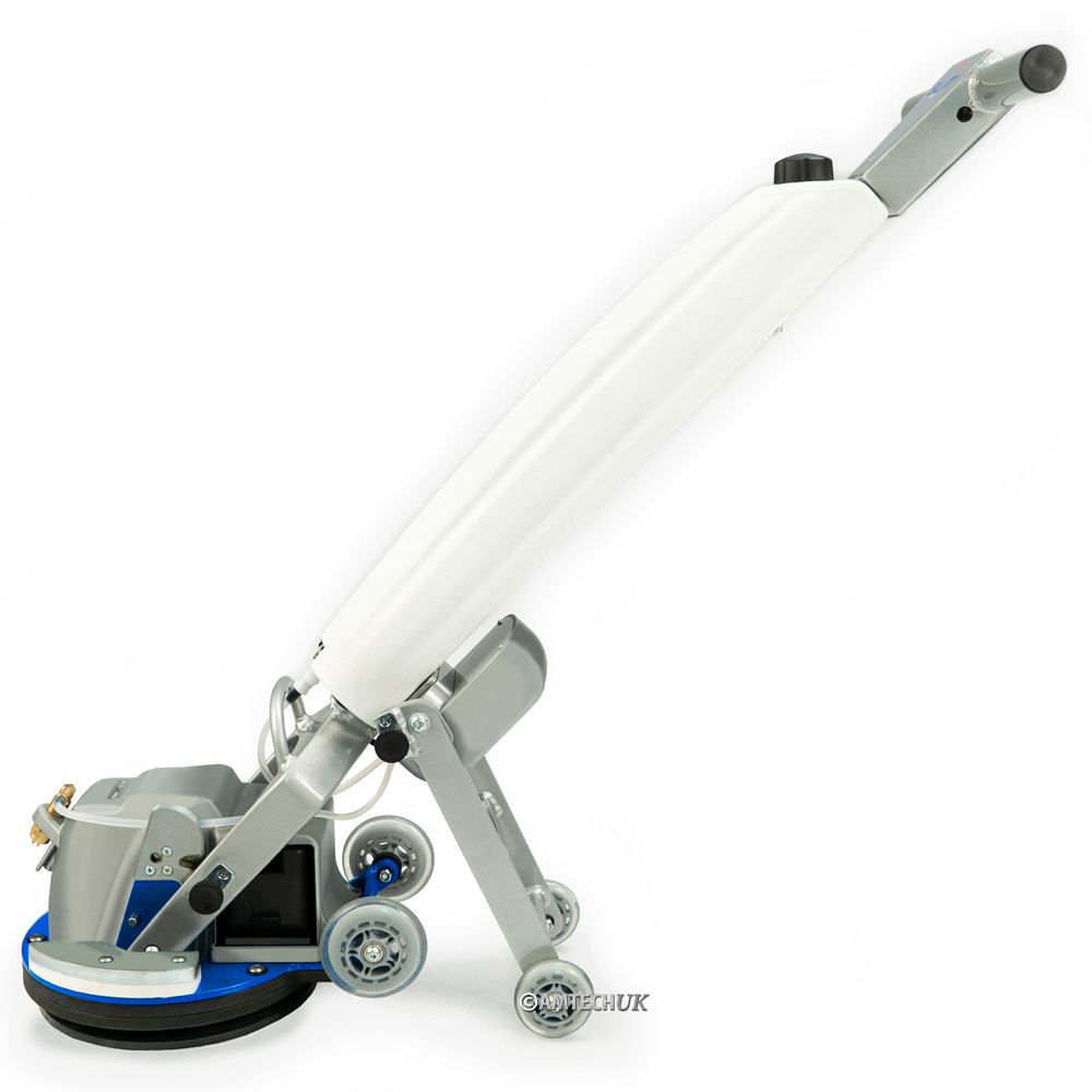 Side view of the Orbot Slim floor cleaning machine.
