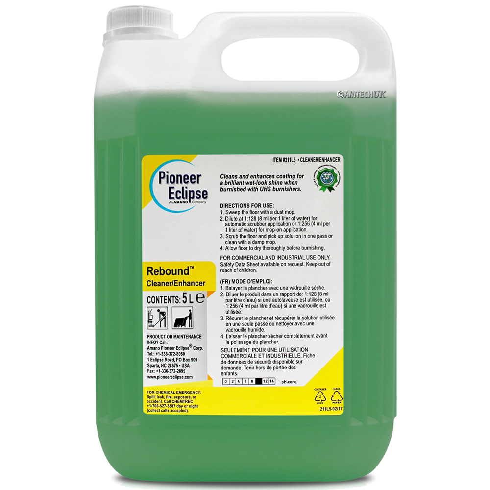 Pioneer Eclipse Rebound Floor Cleaner Enhancer Floor