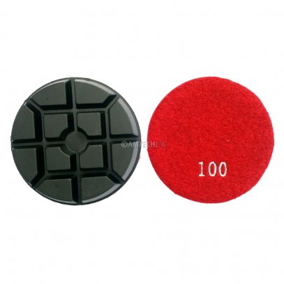 100 Grit Resin Bond Floor Polishing Grinding Puck