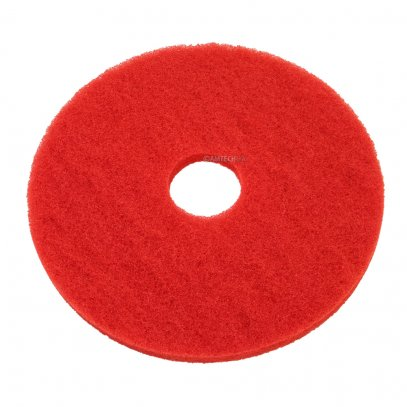 "15"" Light Cleaning Floor Pad, Red"