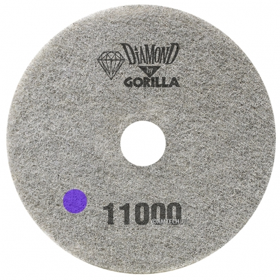 "17"" Diamond Pad By Gorilla - 11000 Grit"