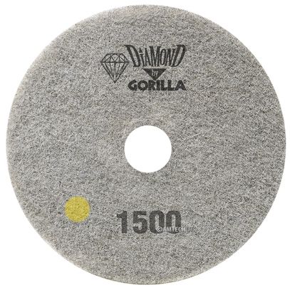 "17"" Diamond Pad By Gorilla - 1500 Grit"