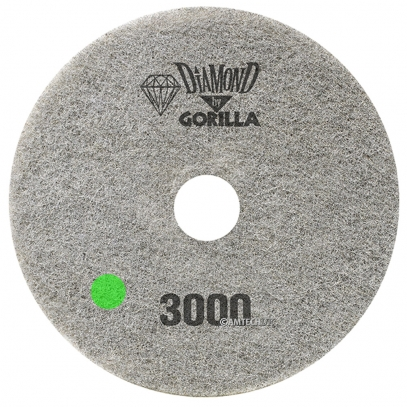 "17"" Diamond Pad By Gorilla - 3000 Grit"