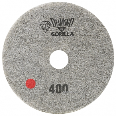 "17"" Diamond Pad By Gorilla - 400 Grit"