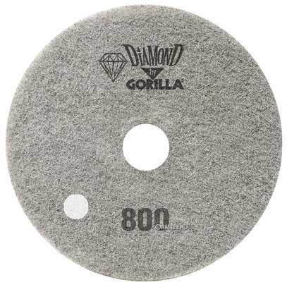 "17"" Diamond Pad By Gorilla - 800 Grit"
