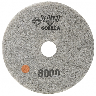 "17"" Diamond Pad By Gorilla - 8000 Grit"