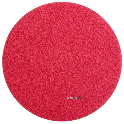 "17"" Red Light Cleaning Floor Pad"