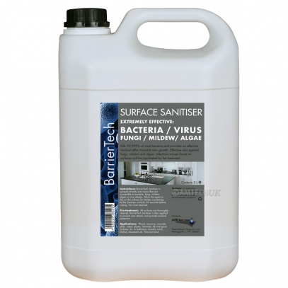 BarrierTech Surface Sanitiser for industrial disinfectant