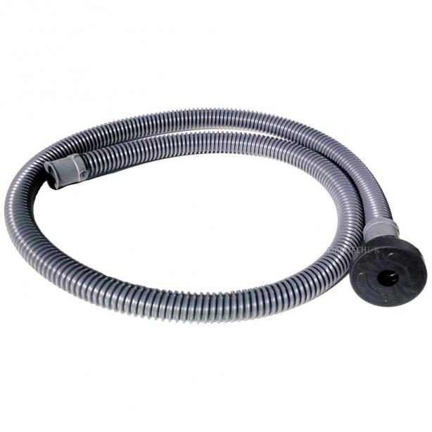 Solution filling hose for carpet machines