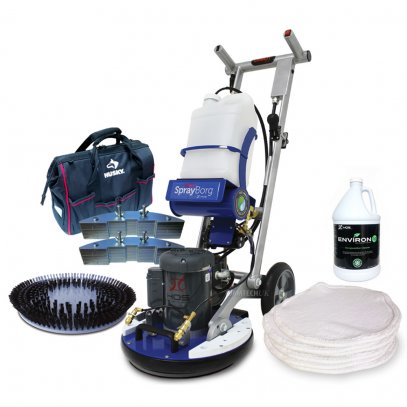HOS Orbot SprayBorg Orbital Floor Machine Bundle
