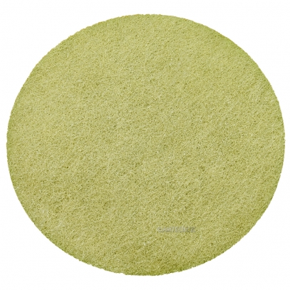 "17"" KGS FLEXIS High Density Yellow Diamond Pad - 1500 Grit"