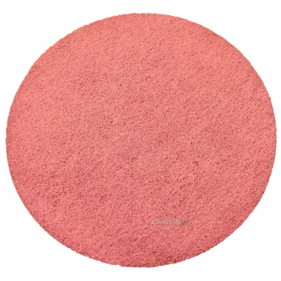 "17"" KGS FLEXIS High Density Red Diamond Pad - 400 Grit"