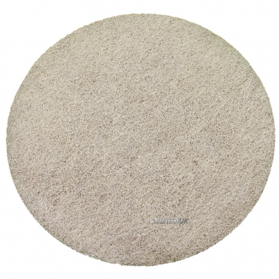 "17"" KGS FLEXIS High Density Cream Diamond Pad - 8000 Grit"