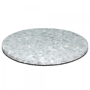 "17""  x 15mm Heavy Duty Melamine Combo Floor Pad"