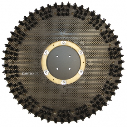 "Orbot 17"" Concrete Cleaning Brush"