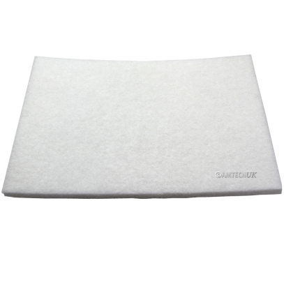 Oszilla Superpad White floor burnishing pad