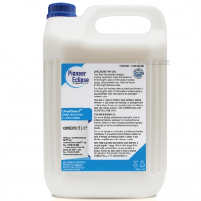 Pioneer Eclipse Omniguard UHS Floor Coating Floor Polishes