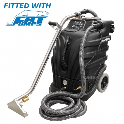 Powr-Flite PFX1085 Perfect Heat Mid Size Black Max Carpet Cleaning Starter Package.