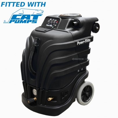 Powr-Flite PFX1085Max Perfect Heat Mid Size Black Max Carpet cleaning machine.