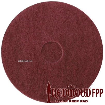 "17"" Redwood Floor Stipping Pads"