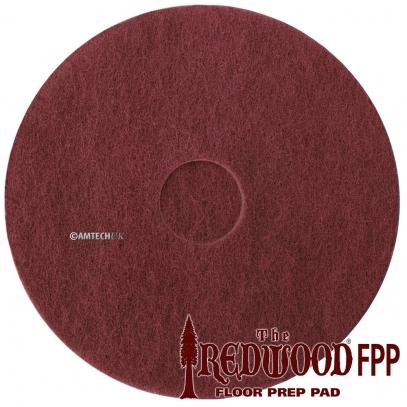 "17"" Redwood Floor Stipping Pads"