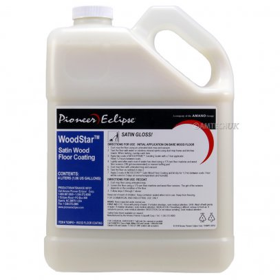 Pioneer Eclipse WoodStar Wood Floor Polish Satin 4 Litres