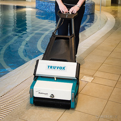 Truvox battery multiwash ideal for swimming pools