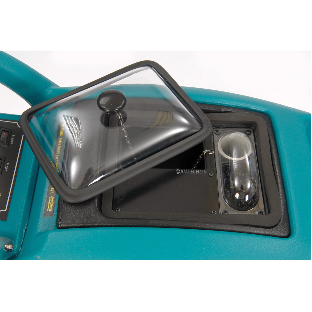 Truvox Hydromist 35 carpet cleaning extractor top view.