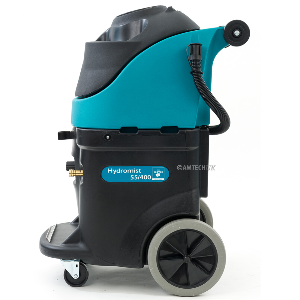 Side view of the Truvox Hydromist carpet cleaning machine