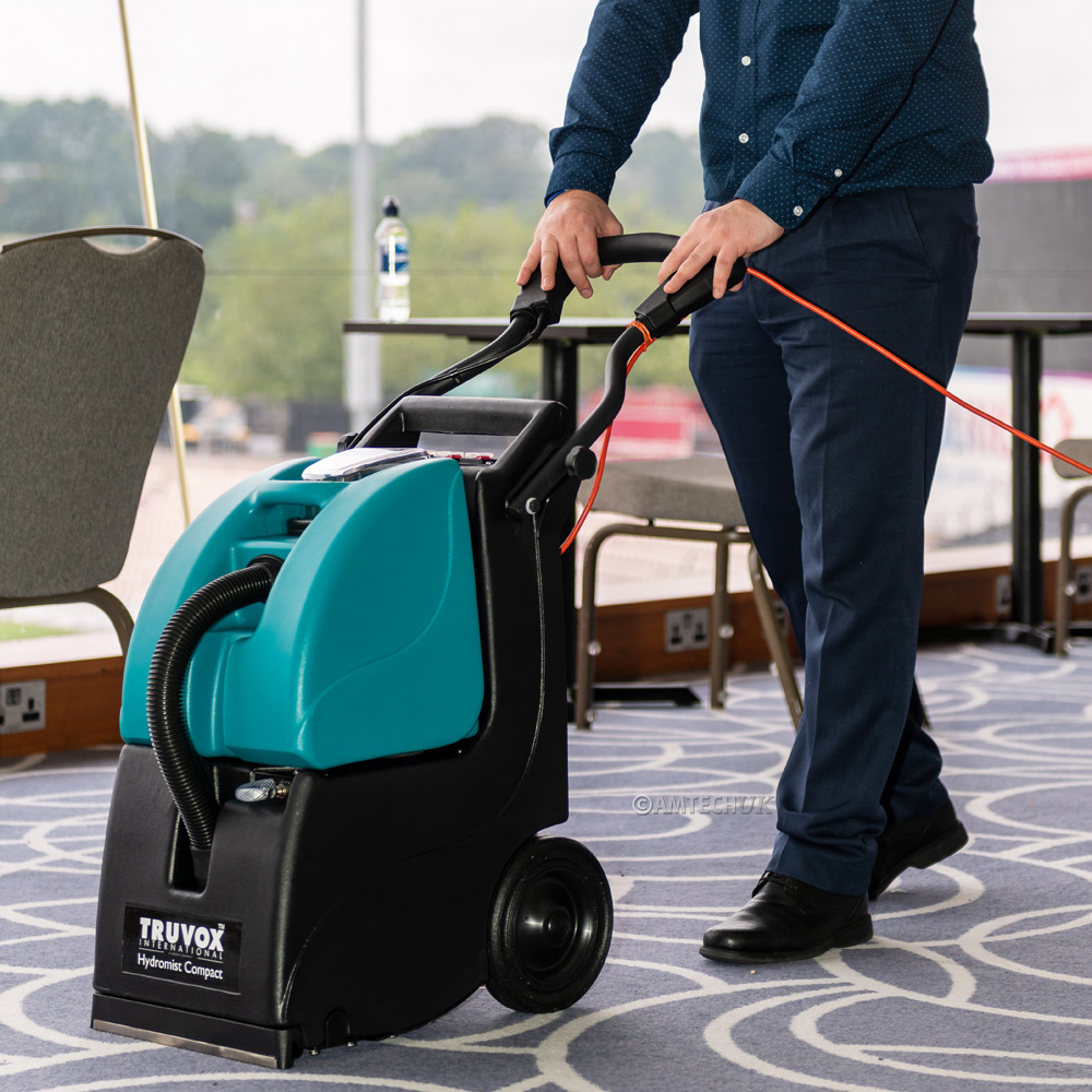 Truvox Hydromist HC250 Cleaning Airport Carpets