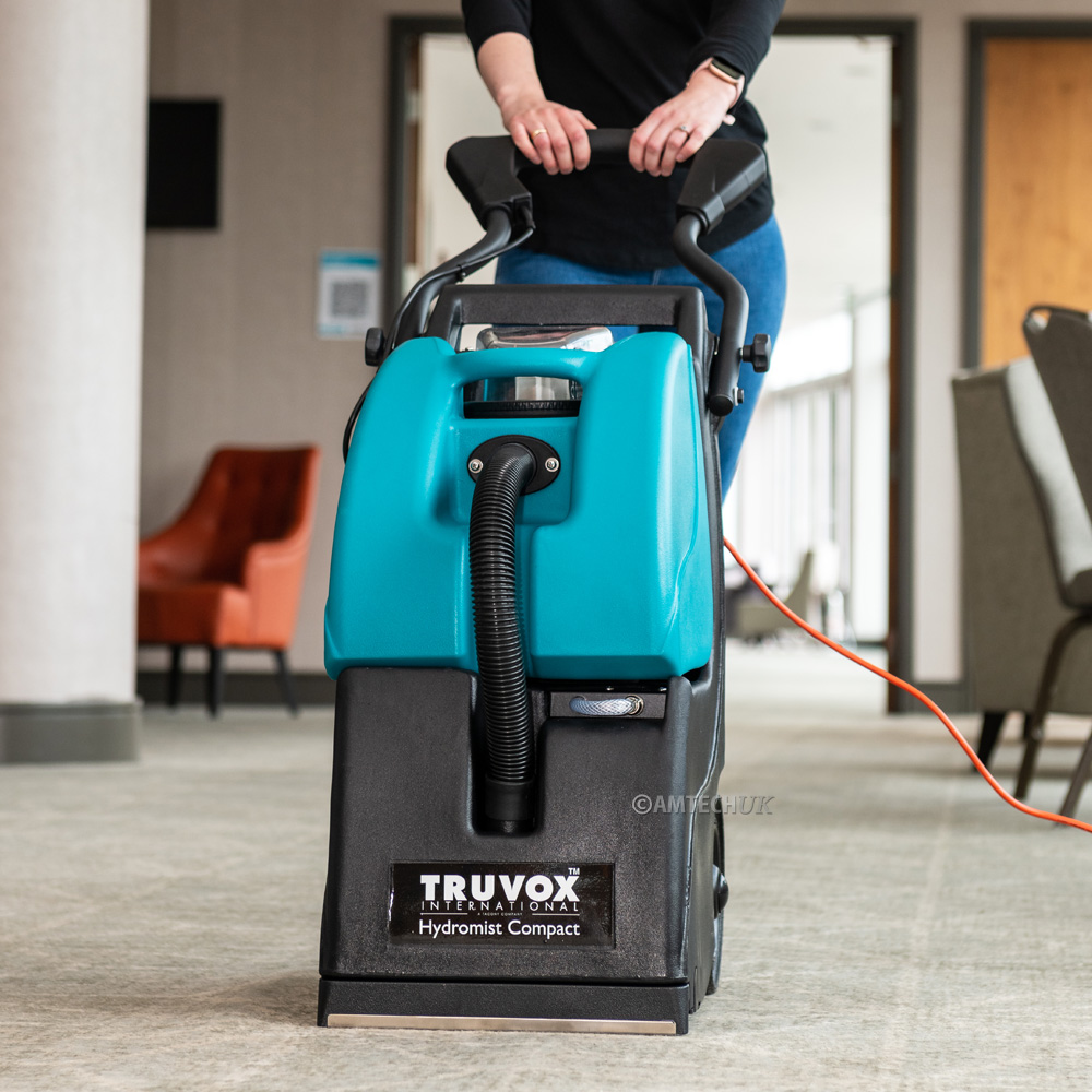 The Truvox Hydromist HC250 Cleaning Hotel Carpets