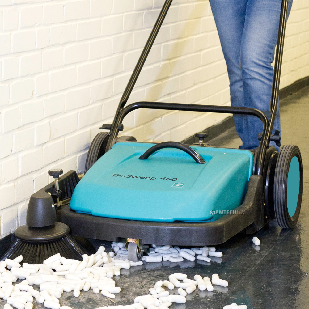 Truvox TruSweep 460 industrial warehouse sweeper