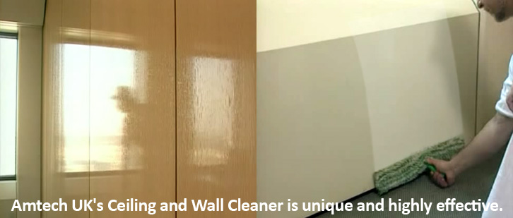 Clean office awalls and partitions