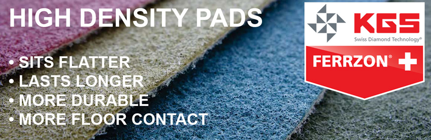 KGS high density diamond pads.