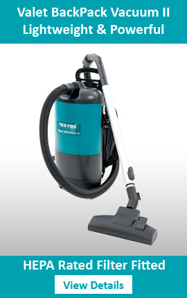 Truvox Backpack Vacuum Cleaner